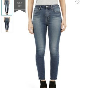 Articles of Society Heather Hi Rise Skinny Jean 24